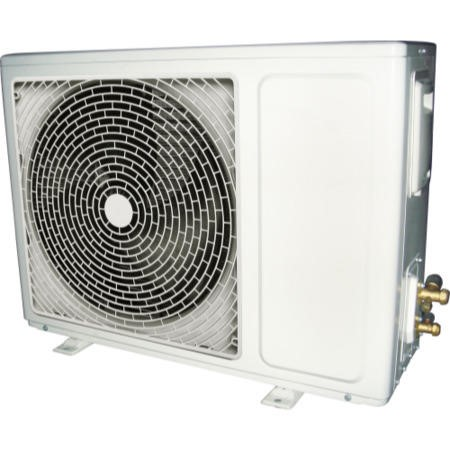 GRADE A1 - 9000 BTU Panasonic Powered Wall Mounted Split Air Conditioner with Heat Pump 5 meters pipe kit and 5