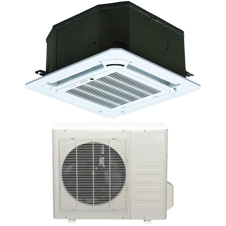 18000 BTU Compact Ceiling Cassette Air Conditioner 5kW with Heat Pump