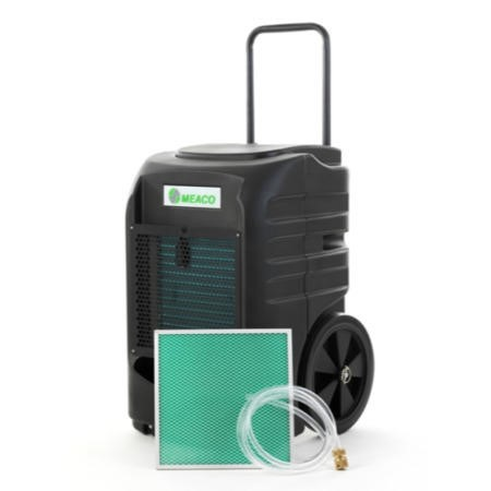 Meaco 60L Rota Moulded Industrial Dehumidifier on large wheels 2 years warranty