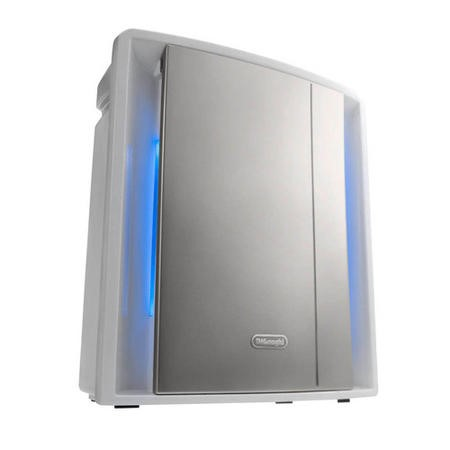 Delonghi AC230 Air Purifier with Sensor touch screen 5 layers filtering and Ionizer for up to 80 sqm rooms
