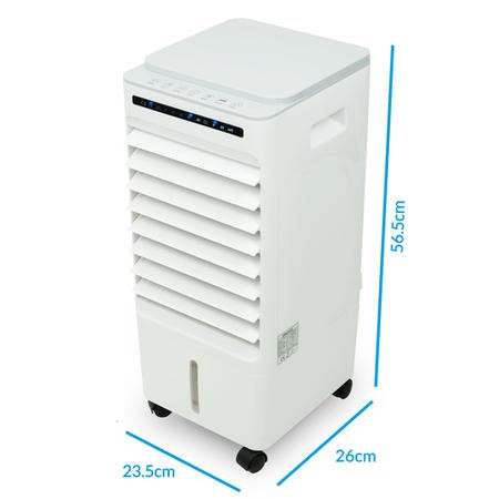 GRADE A1 - Argo 10L Portable Evaporative Air Cooler Air Purifier and Humidifier