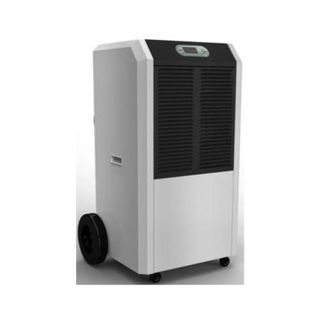 GRADE A2 - Amcor 90 litre per day Commercial Dehumidifier on Large wheels  with digital humidistat and uplift pump