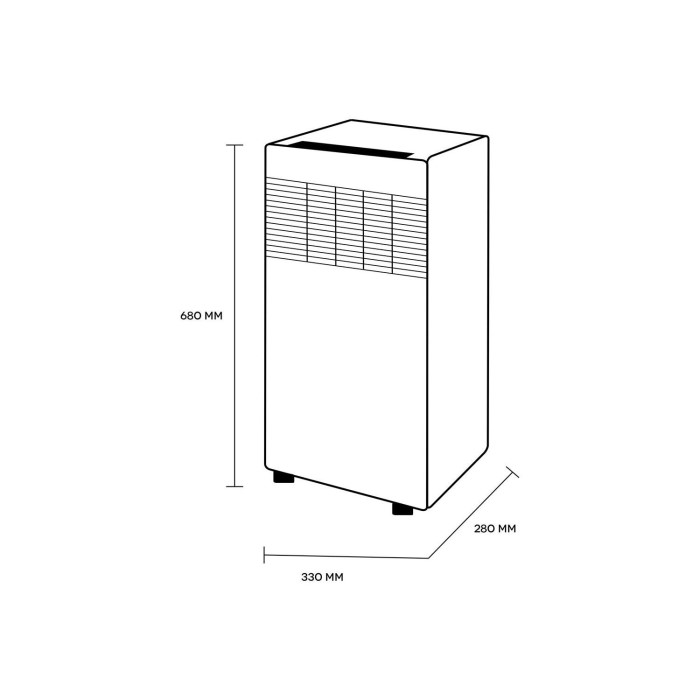 Portable Travel Straw Haier 8000 Btu Portable Air Conditioner Parts Portable Drinking Straw Quiet Portable Evaporative Air Cooler: Buy Argo 8000 BTU Portable Air Conditioner For Rooms Up To
