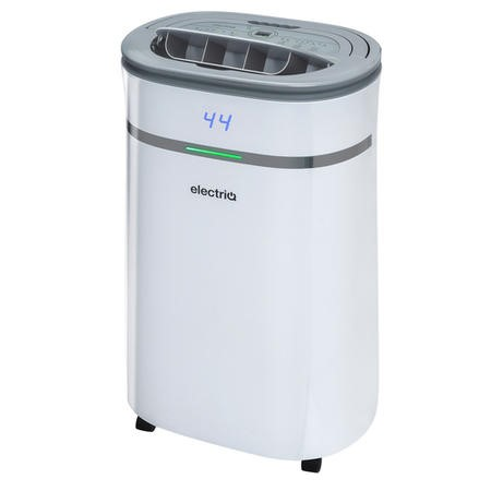 electriQ CD20LE PRO 20L Low Energy Smart App WIFI Dehumidifier for 2 to 5 bed houses with UV Air Purifier