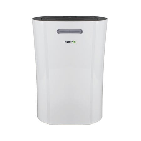 GRADE A1 - electriQ CD12LE PRO 12L Low Energy Smart Dehumidifier for up to 3 bed house with Plasma Air Purifier