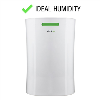 GRADE A1 - electriQ 12 litre Dehumidifier for 3 bed house with Digital Humidistat and Air Purifier