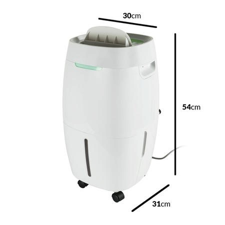 electriQ 16 litre Low Energy Dehumidifier for up to 4 bed houses