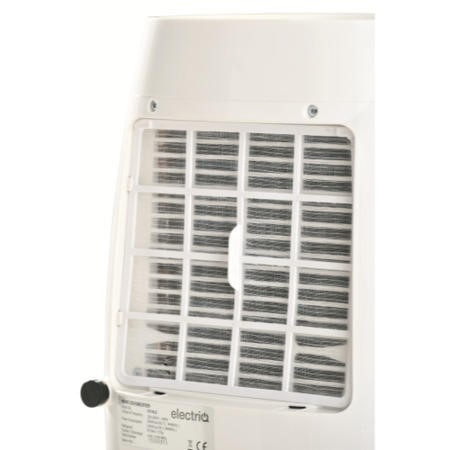 GRADE A2 - electriQ 16 litre Quiet Low Energy Dehumidifier for homes with up to 4 beds