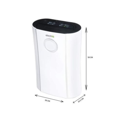 electriQ 20L Low Energy Anti-Bacterial Dehumidifier for 2 to 5 bed houses - WHICH Best Buy CD20LE-V2