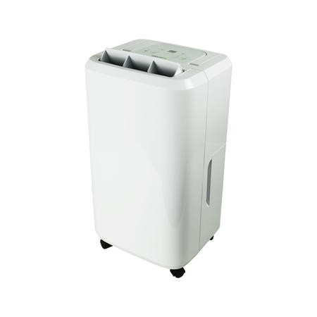 GRADE A1 - electriQ 20 Litre Antibacterial Dehumidifier with Humidistat for up to 5 bed houses