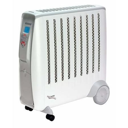 Dimplex Cadiz 2kW Portable Oil free electric radiator with 2 heat settings adjustable thermostat and climate control