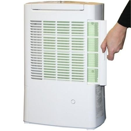 GRADE A1 -  ECOAIR DD128 8L Desiccant Dehumidifier with Ioniser up to 5 bed house and 2 year warranty
