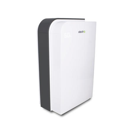 electriQ 10 Litre Fast Dry Desiccant Dehumidifier and Heater with HEPA Air Purifier for 2-6 Bed Homes