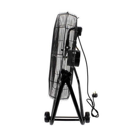 "24"" High velocity portable fan - Black"