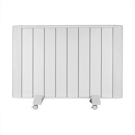 electriQ 2000W Wall Mountable Low Energy Smart WiFi Alexa Aluminium Designer Radiator - Bathroom Safe IP24