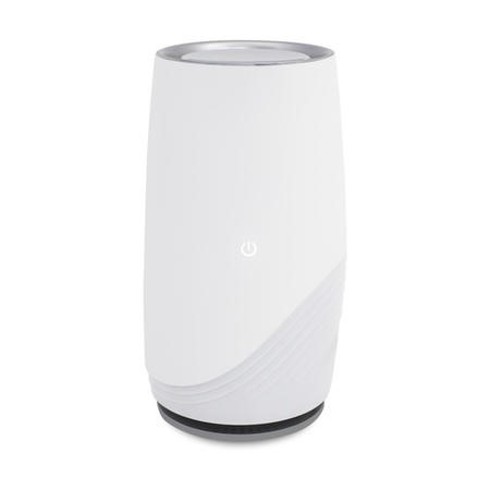 Compact Ultra Quiet Hepa and Plasma Air Purifier with anti-bacterial technology