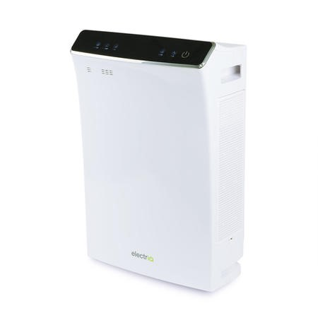 electriQ PM2.5 Smart App WIFI Air Purifier with Dual HEPA Carbon Photocatalytic Filters - Great for Homes and offices  up to 80sqm
