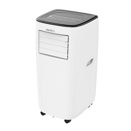 GRADE A1 - electriQ EcoSilent 10000 BTU Portable Air Conditioner - for rooms up to 28 sqm