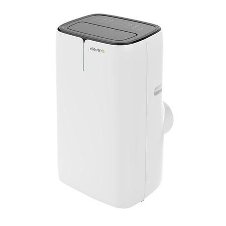 GRADE A1 - Dual plug EU+UK electriQ 12000 BTU Quiet Portable Air Conditioner - for rooms up to 30sqm