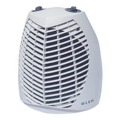 Glen GU2TS 2kw Upright Fan Heater 2 Heat Settings Thermostat