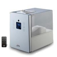HF 710 White Digital Ultrasonic Cool & Warm Mist Humidifier with Aroma Function