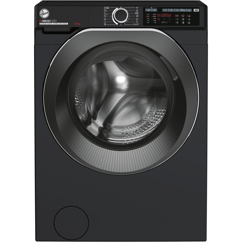 Washing Machines Hoover HW414AMBCB/1-80 H-Wash 500 14kg Freestanding Washing Machine - Black