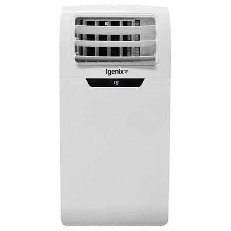 GRADE A1 - Igenix 9000 BTU SMART WIFI App Portable Air Conditioner for rooms up to 21 sqm