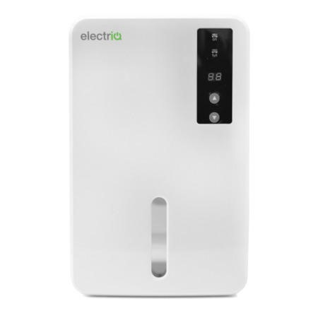 electriQ MD400 Mini Compact Dehumidifier with Humidistat and 1.5 litres tank