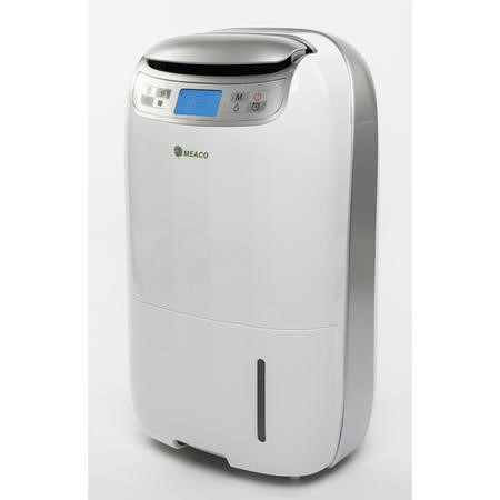 Meaco Platinum 25 Litre Low Energy Dehumidifier for up to 5 bed house with Digital Display and 2 Years Warranty