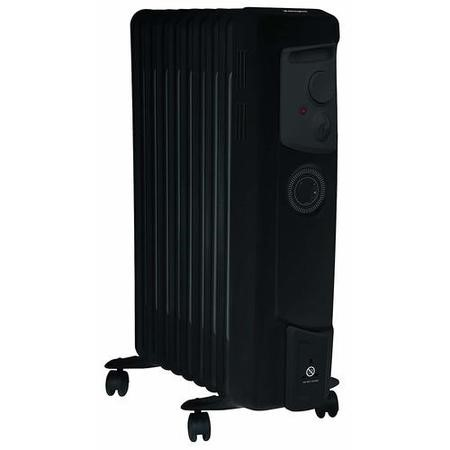 Dimplex 2kw Black Oil Filled Radiator with Timer