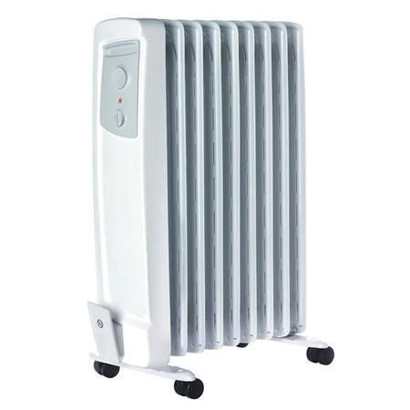 Dimplex OFC2000 2kw Oil Filled Radiator 2 Heat Settings Thermostat