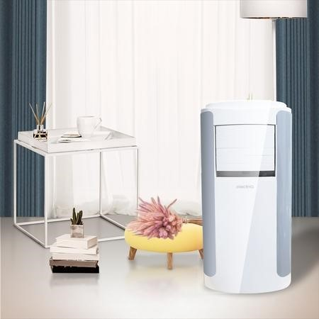GRADE A1 - electriQ 12000 BTU Portable Air Conditioner for rooms up to 30 sqm