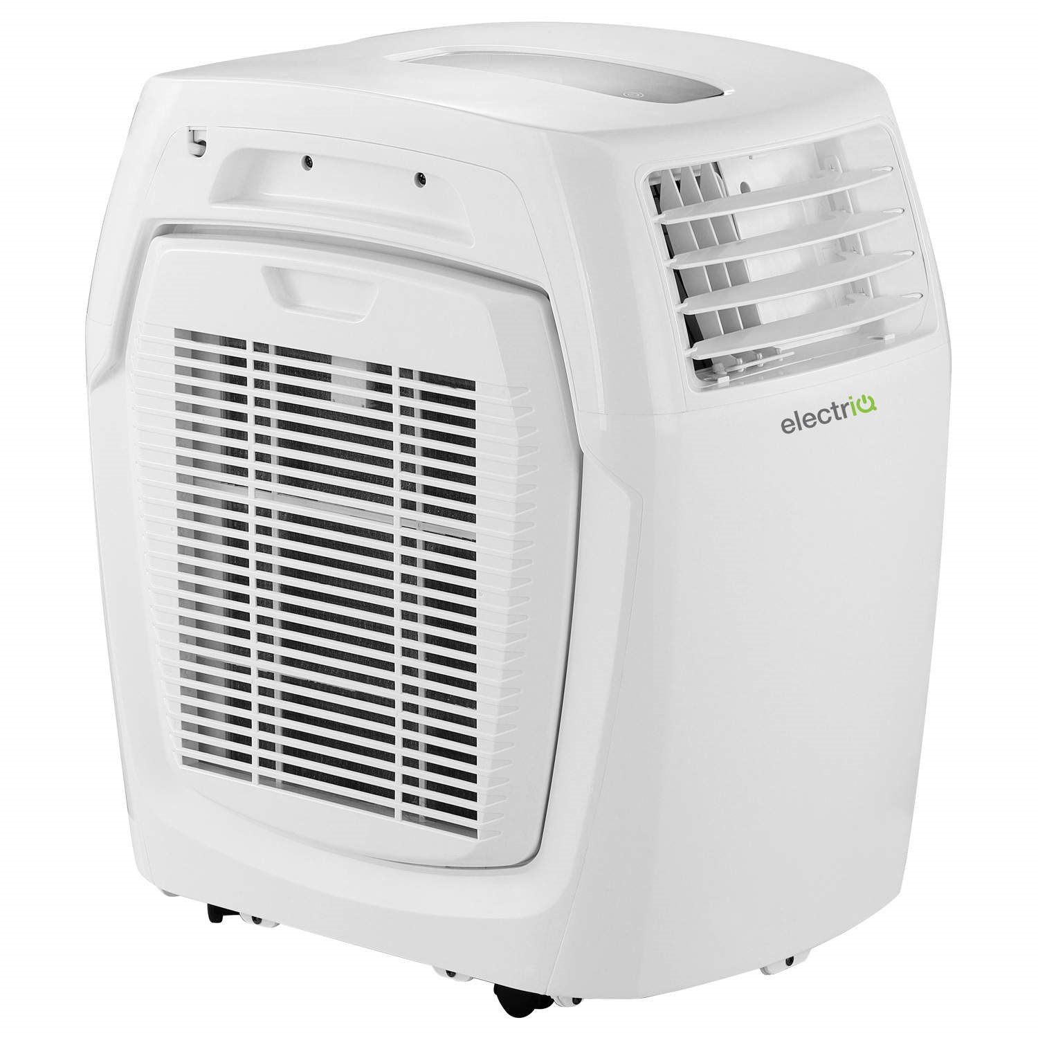 GRADE A1 - electriQ 15000 BTU 4 4 kW Compact Portable Air Conditioner with  Heat Pump for Rooms up to 40 sqm