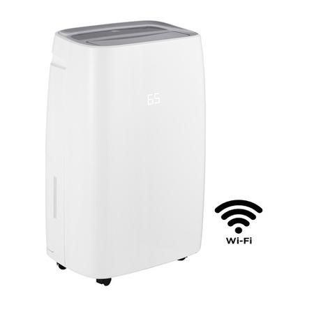 PD45E 45L Commercial Large Home Office Dehumidifier with Electronic Controls and Digital Humidistat