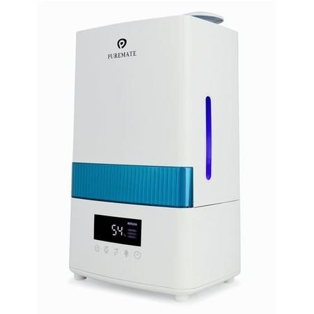 Puremate PM908 4.5 Litre Ultrasonic Cool Mist Humidifier with Ioniser and Aroma Diffuser - Great for medium sized rooms up to 40sqm
