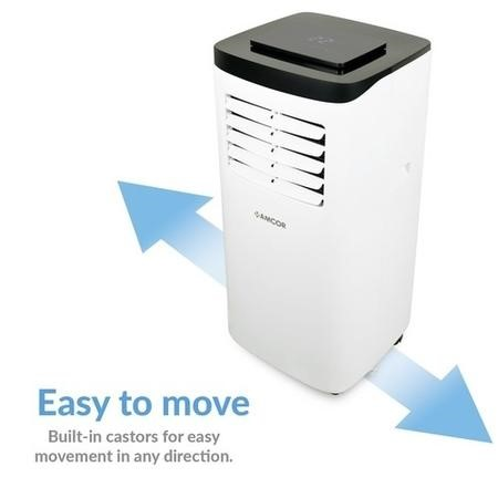 GRADE A1 - Amcor SF8000E Portable Air Conditioner for rooms up to 18 sqm