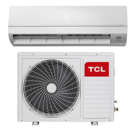 buy tcl 12000 btu wall mounted split air conditioner a a with heat pump and 5 years warranty. Black Bedroom Furniture Sets. Home Design Ideas