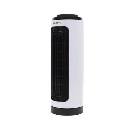 GRADE A1 - electriQ Slim Tower Fan with Oscillation and 3 speed settings - White