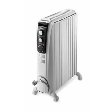 DeLonghi Dragon 4 TRD41025T 2.5 kW Oil Filled Radiator with 10 years warranty