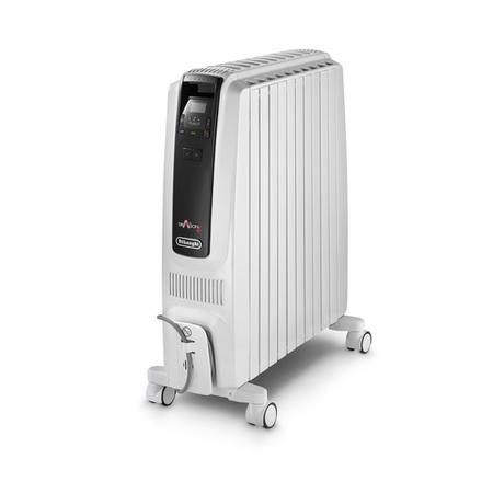 DeLonghi Dragon 4 TRDS41025E 2.5 kW Oil Filled Radiator with Digital Thermostat and ECO function with 10 years warranty