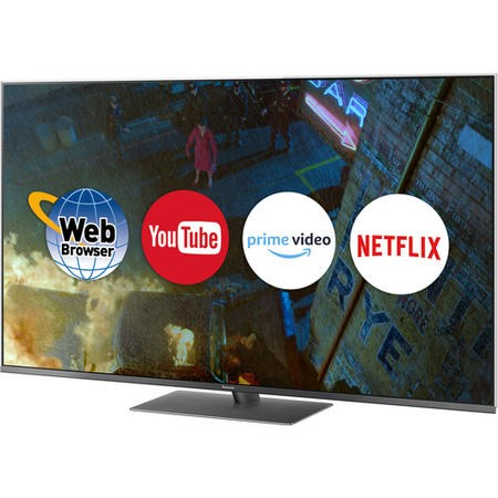 "Panasonic TX-49FX750B 49"" 4K Ultra HD HDR LED Smart TV with 5 Year Warranty"