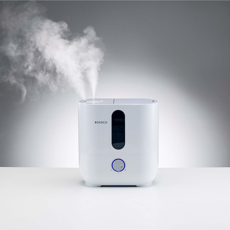 BONECO Warm or Cool Mist Ultrasonic Humidifier U350, Top Fill