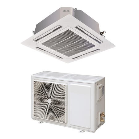 24000 BTU Slim Ceiling Cassette Air Conditioner 7.1kW with Heat Pump