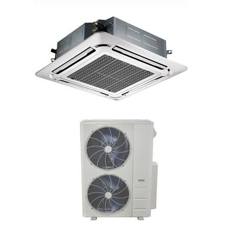 48000 BTU Super Slim Ceiling Cassette Air Conditioner 14kW with Heat Pump