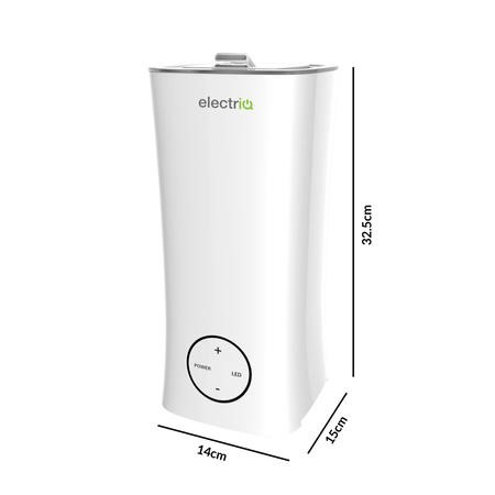 electriQ 2L Cool Mist Humidifier with Aroma Diffuser