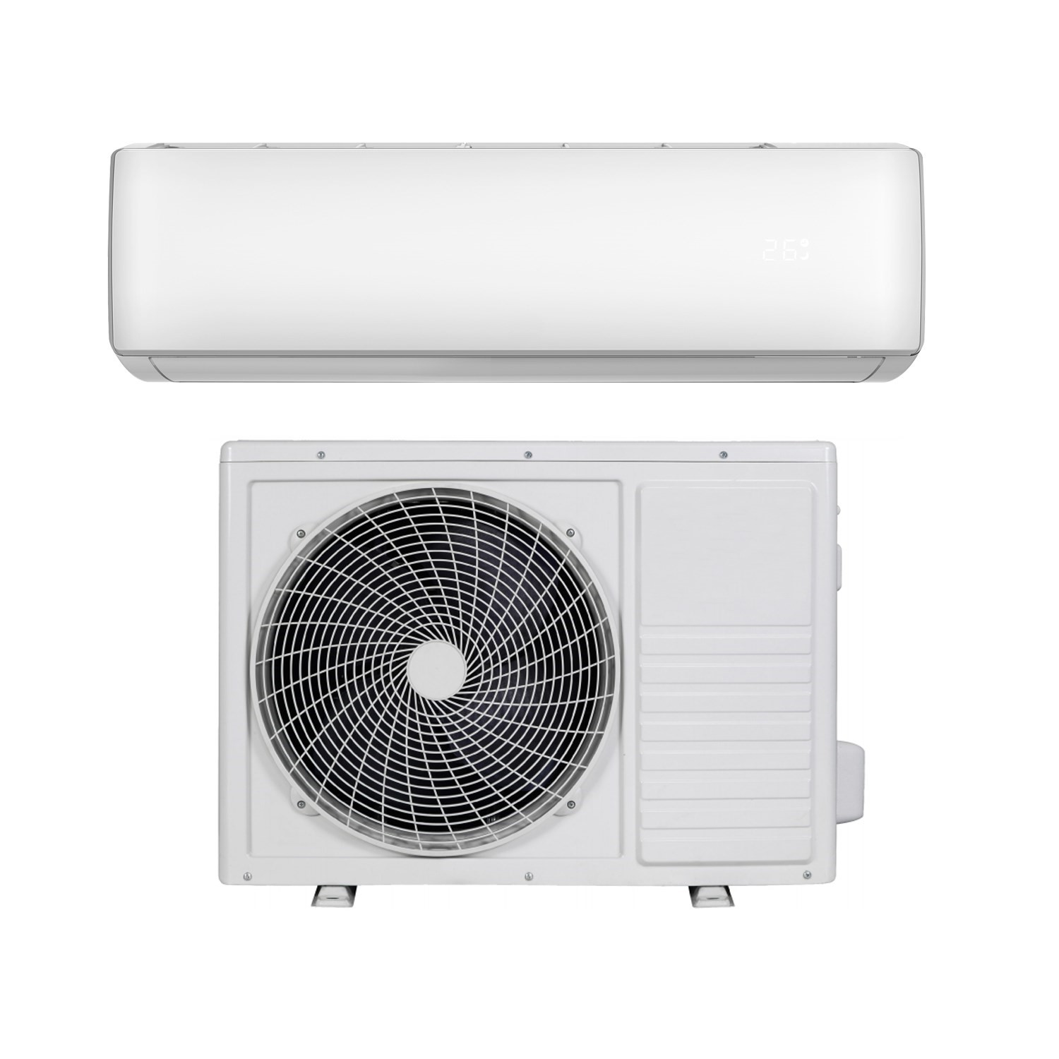 Buy 12000 Btu Wifi Smart A Easy Fit Dc Inverter Wall Split Air Conditioner With 5 Meters Pipe Kit From Aircon Direct