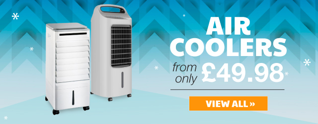Aircoolers from only £49.98